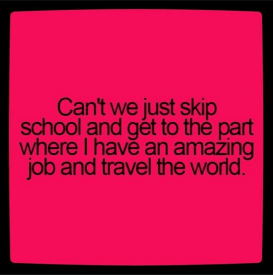 skip school